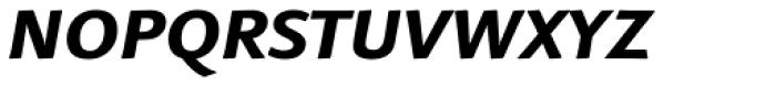 Linotype Finnegan Small Caps Bold Italic Font LOWERCASE