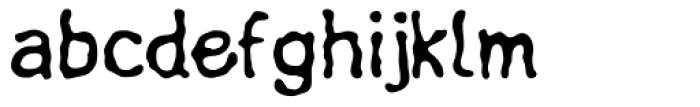 Linotype Fluxus Font LOWERCASE