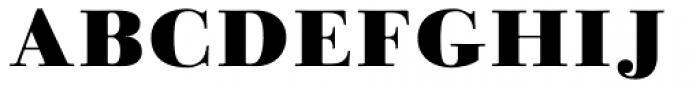 Linotype Gianotten Black Font UPPERCASE