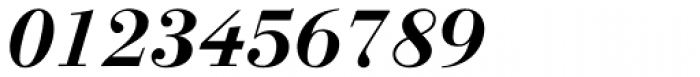 Linotype Gianotten Bold Italic Font OTHER CHARS