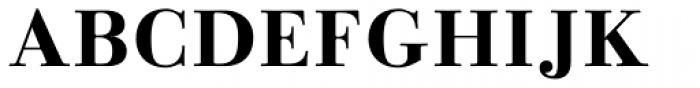 Linotype Gianotten Bold Font UPPERCASE