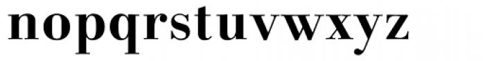 Linotype Gianotten Bold Font LOWERCASE