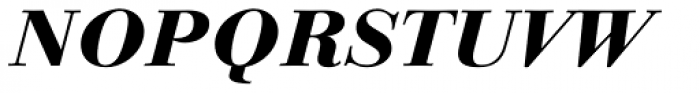 Linotype Gianotten Heavy Italic Font UPPERCASE