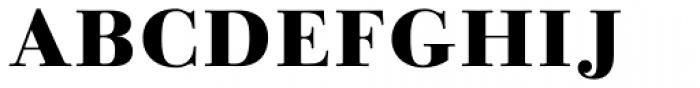Linotype Gianotten Heavy Font UPPERCASE