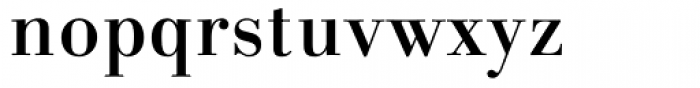Linotype Gianotten Medium Font LOWERCASE