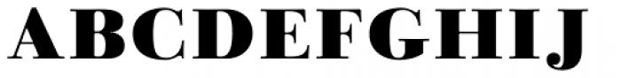 Linotype Gianotten Pro Black Font UPPERCASE