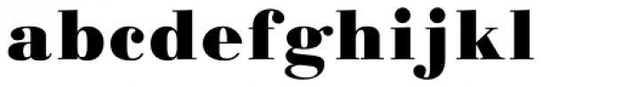 Linotype Gianotten Pro Black Font LOWERCASE