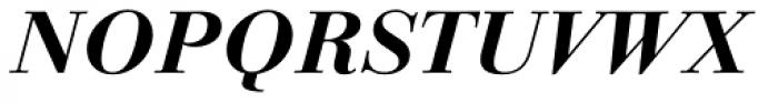 Linotype Gianotten Pro Bold Italic Font UPPERCASE