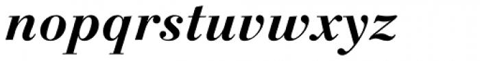 Linotype Gianotten Pro Bold Italic Font LOWERCASE