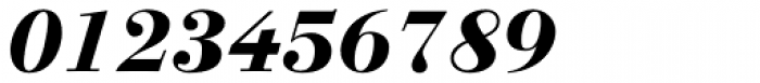 Linotype Gianotten Pro Heavy Italic Font OTHER CHARS