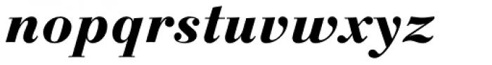 Linotype Gianotten Pro Heavy Italic Font LOWERCASE