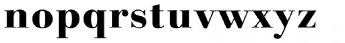 Linotype Gianotten Pro Heavy Font LOWERCASE
