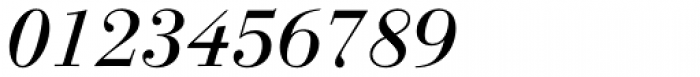 Linotype Gianotten Pro Italic Font OTHER CHARS