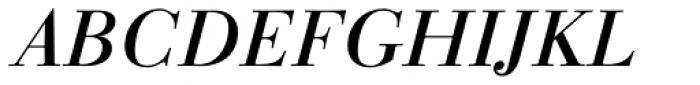 Linotype Gianotten Pro Italic Font UPPERCASE