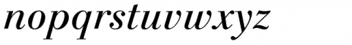 Linotype Gianotten Pro Italic Font LOWERCASE