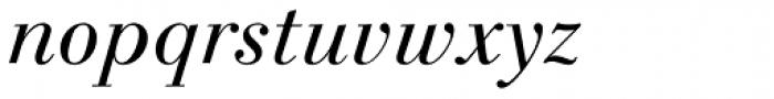 Linotype Gianotten Pro Light Italic Font LOWERCASE