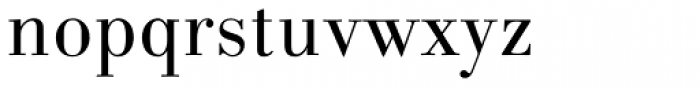 Linotype Gianotten Pro Light Font LOWERCASE