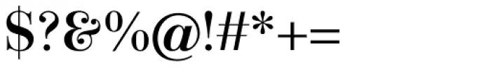 Linotype Gianotten Pro Medium Font OTHER CHARS