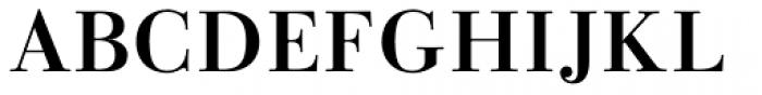 Linotype Gianotten Pro Medium Font UPPERCASE