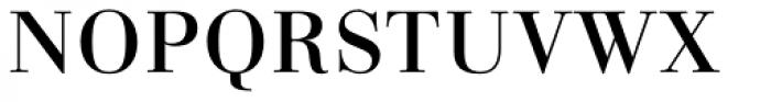 Linotype Gianotten Pro Regular Font UPPERCASE