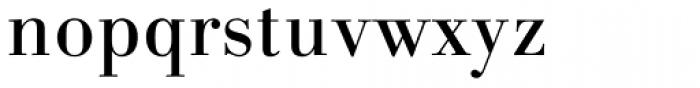 Linotype Gianotten Pro Regular Font LOWERCASE