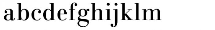 Linotype Gianotten Regular Font LOWERCASE