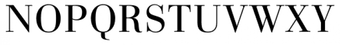 Linotype Gianotten Small Caps Light Font UPPERCASE