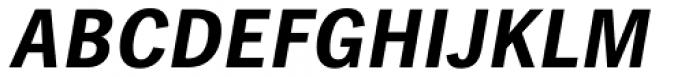 Linotype Gothic Pro Bold Italic Font UPPERCASE