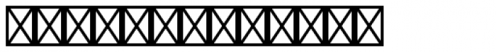 Linotype Holiday Pi 1 Font UPPERCASE