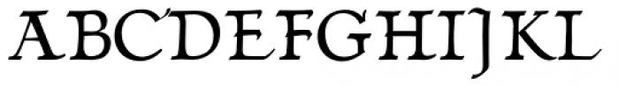 Linotype Humanistika Std Regular Font UPPERCASE