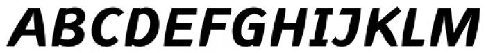Linotype Inagur Std Bold Italic Font UPPERCASE