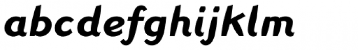 Linotype Inagur Std Bold Italic Font LOWERCASE