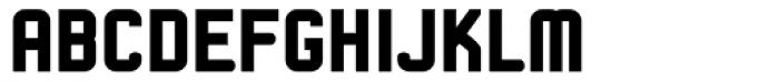Linotype Kaliber Black Font UPPERCASE