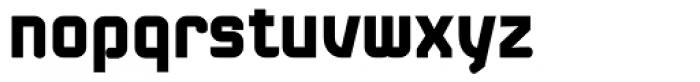 Linotype Kaliber Black Font LOWERCASE