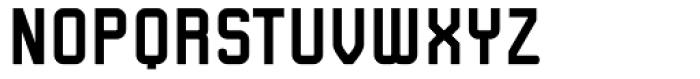 Linotype Kaliber Bold Font UPPERCASE