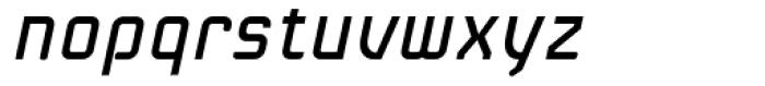 Linotype Kaliber Italic Font LOWERCASE