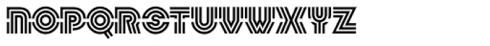 Linotype Labyrinth Regular Font UPPERCASE