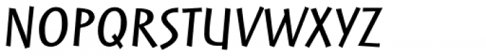 Linotype Markin Pro Italic Font UPPERCASE