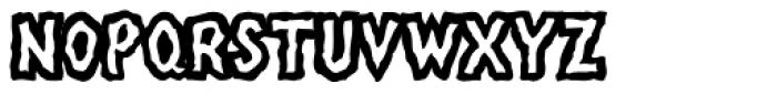 Linotype Mega Normal Font UPPERCASE
