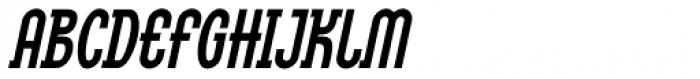 Linotype Method Std Bold Oblique Font UPPERCASE