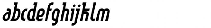 Linotype Method Std Bold Oblique Font LOWERCASE