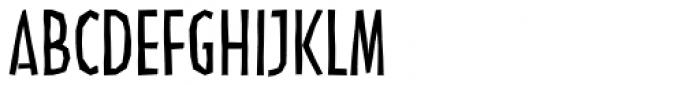 Linotype Nordica Regular Font UPPERCASE