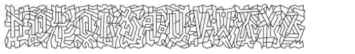 Linotype Paint It Font UPPERCASE