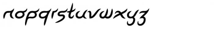 Linotype Pegathlon Std Medium Font LOWERCASE
