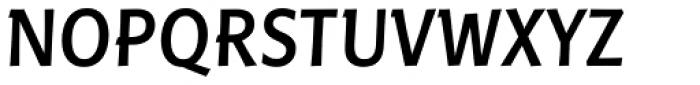 Linotype Pisa Com Medium Font UPPERCASE