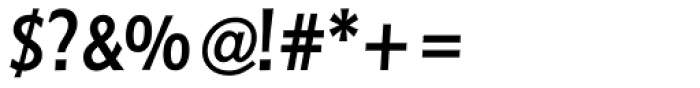 Linotype Pisa Medium Font OTHER CHARS