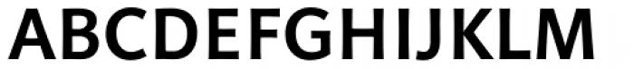 Linotype Projekt Bold Font UPPERCASE