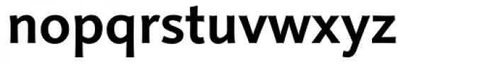 Linotype Projekt Bold Font LOWERCASE