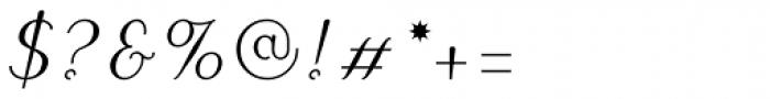 Linotype Puritas Pro Medium Italic Font OTHER CHARS