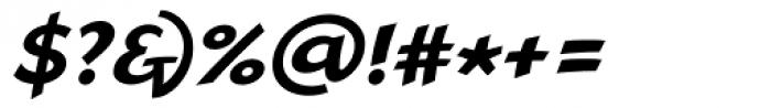 Linotype Rana Bold Italic Font OTHER CHARS